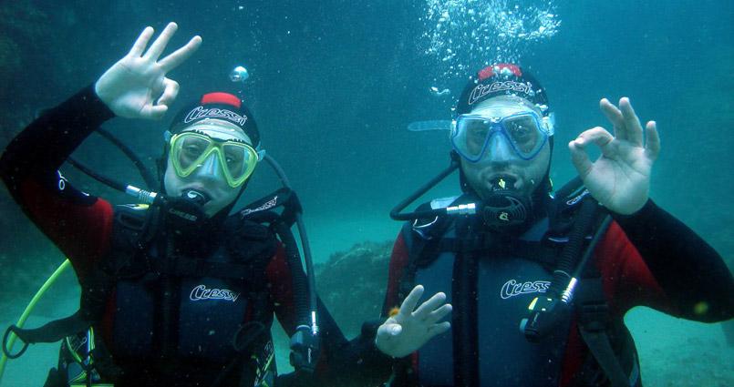 Bautizo en el Mar - Submarinismo Girona